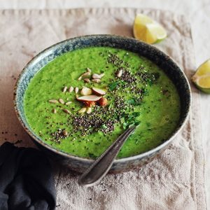 Alkalizing Green Detox Soup to Flush Out Toxins