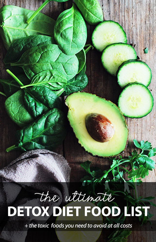 The Ultimate Detox Diet Food List (+