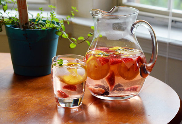 detoxifying water