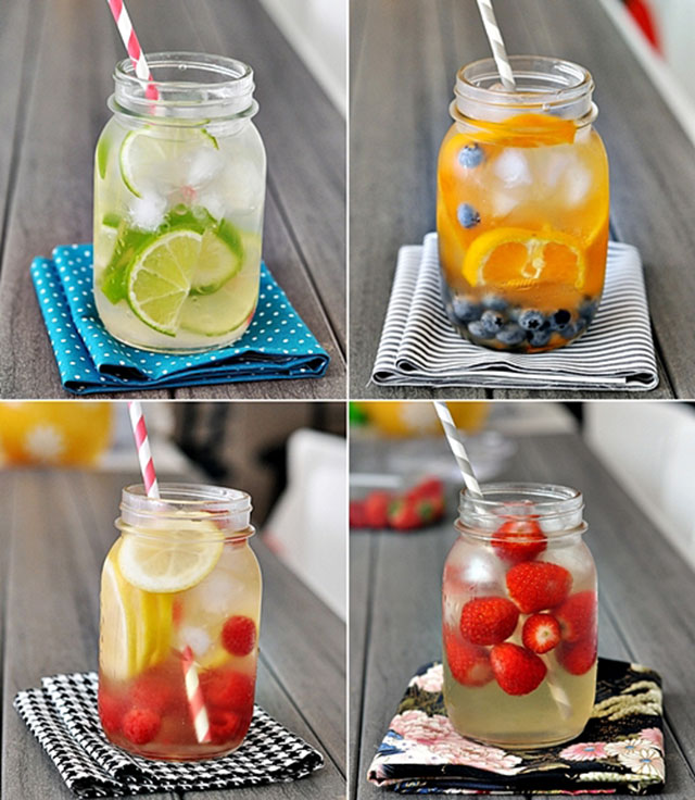 fruit spa water