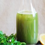 parsley fennel green juice