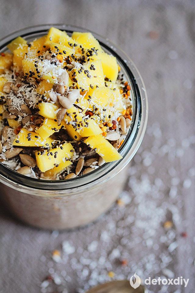 raw coconut pudding recipe