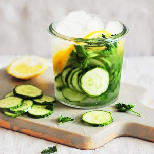 Cleansing Cucumber Water (4 Detoxifying Recipes)