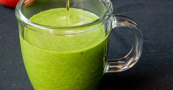 Hot Green Tea Smoothie