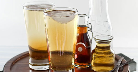 Maple Syrup Vinegar Soda