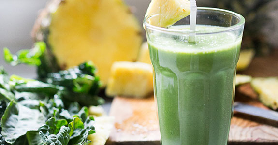 Matcha Pineapple Smoothie