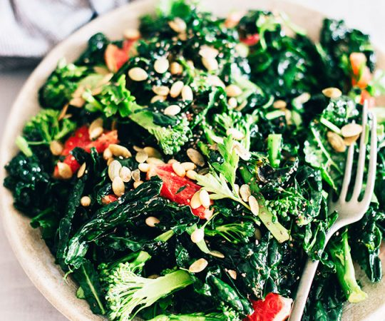 This Master Green Detox Salad is absolutely amazing! I eat it at least once/week and it leaves me feeling energized all day.