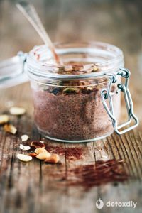 Cleansing Chocolate Chia Pudding