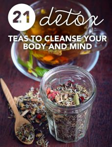21 Superpowered Detox Teas