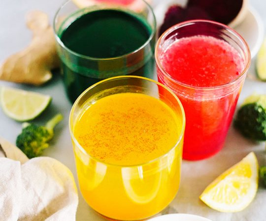 Your liver will be the happiest it's been in a long time when you make these simple detox juices. Three recipes, all amazing, and amazingly good for you! This is a simple and cheap way to do a quick liver cleanse.
