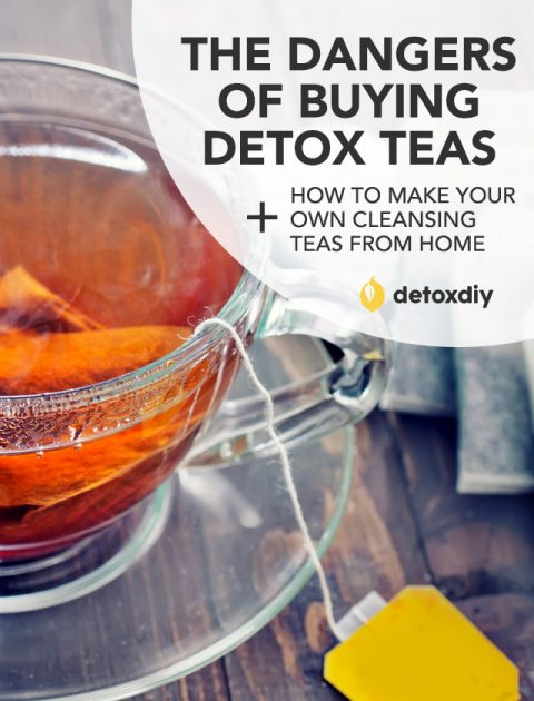 Dangers of Buying Detox Teas (+ How to Make Your Own)