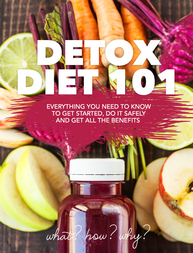 This is the holy grail for information on the Detox Diet! Whether you are a complete detox beginner or seasoned pro, this is a must read.