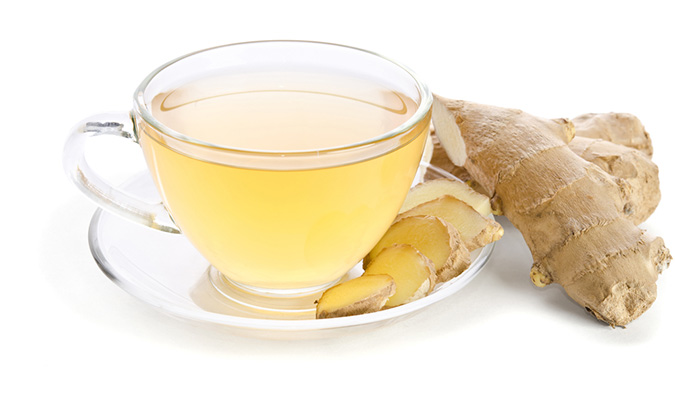 ginger detox tea