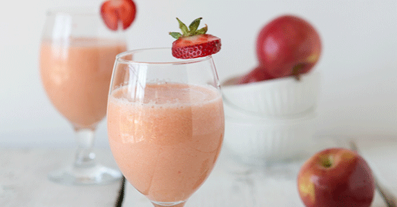 Apple Banana Strawberry Smoothie