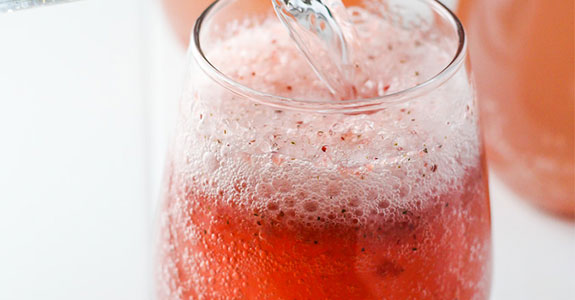 Homemade Strawberry Soda