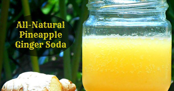 Pineapple Ginger Soda