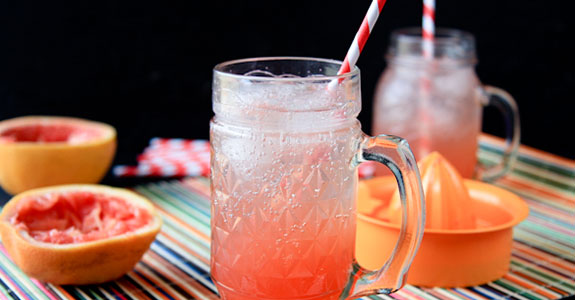 Simple Grapefruit Soda