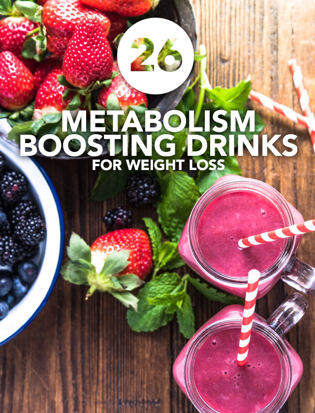 I love these metabolism boosting drinks! They are nutrient-dense and help with weight loss.