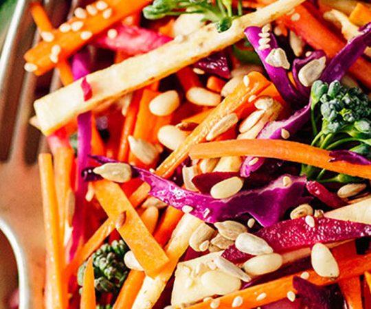 Crunchy Root Detox Salad