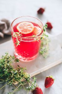 Beet and Strawberry Detox Lemonade