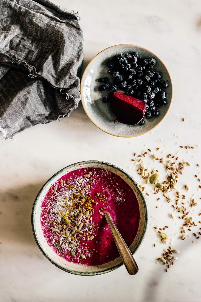 Berry Porridge Ingredients