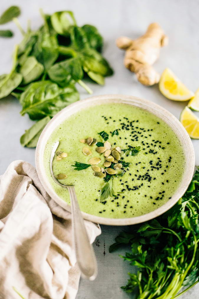 Detox spinach soup raw detox diy i cant believe how easy this soup is to make and how great forumfinder Gallery