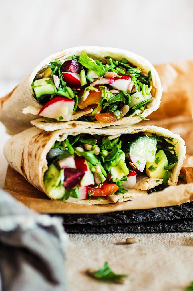 I just can't get enough of this Parsley Detox Wrap. It's become my go-to when I need a quick but satisfying lunch either on the go or at home.