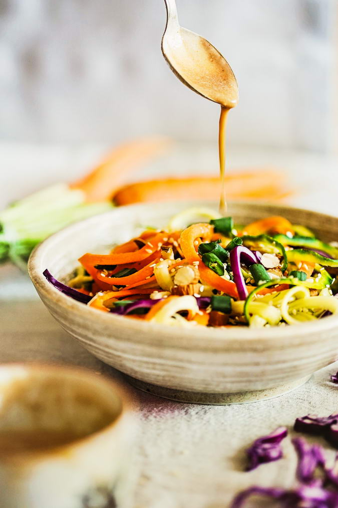 Raw Noodles with Thai Sauce