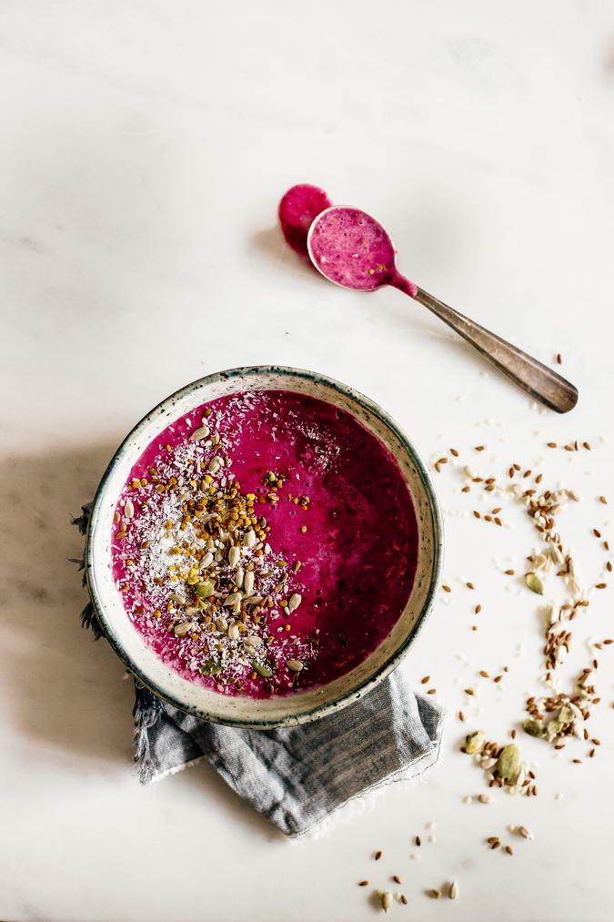 Whipped Berry Porridge