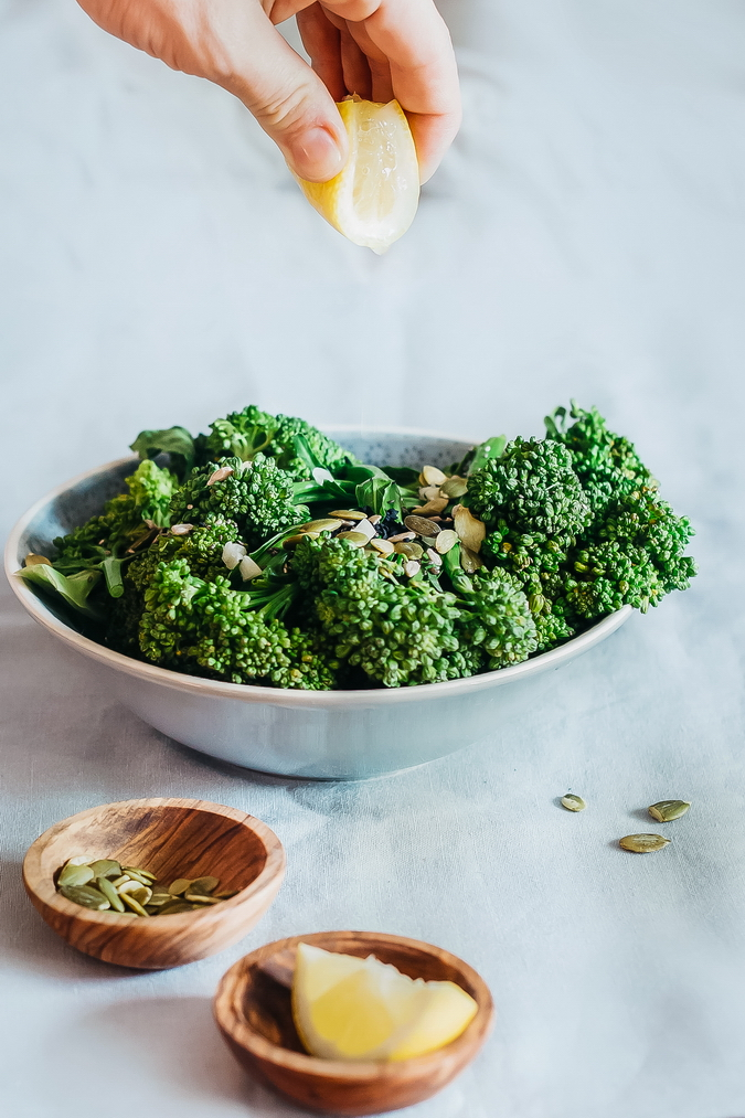 Green Loaded Broccoli Salad