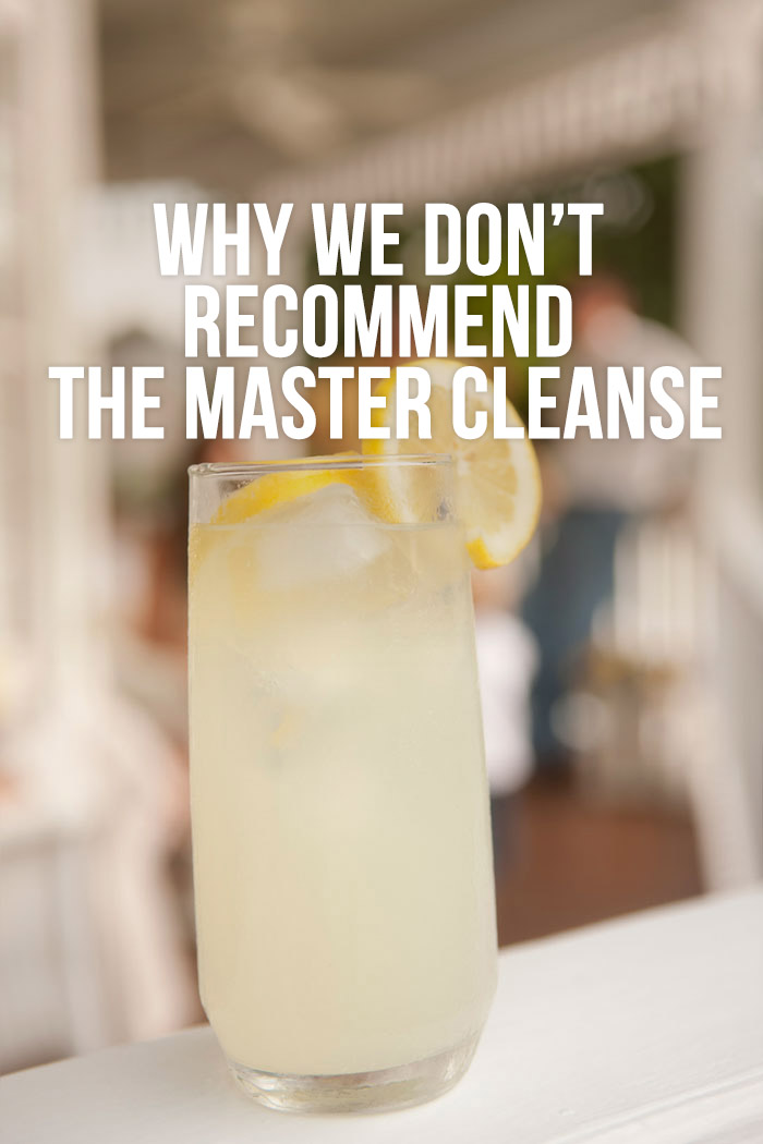 Why We Don T Recommend The Master Cleanse Detox Diy