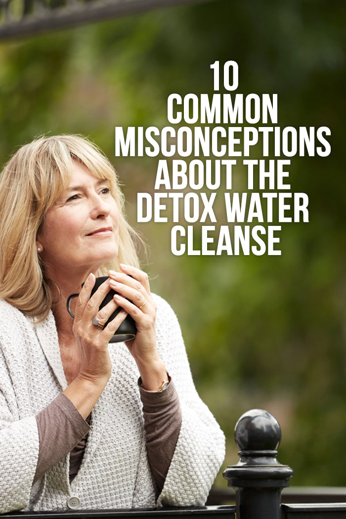 detox water cleanse myths