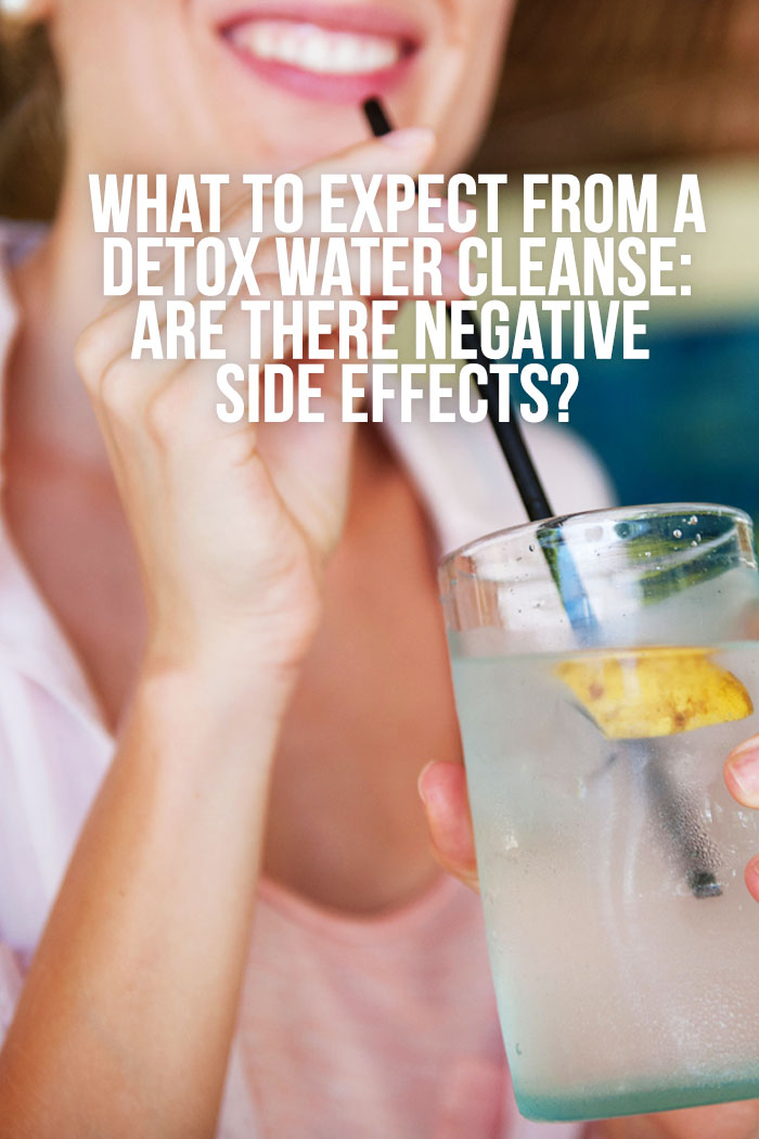 detox water side effects