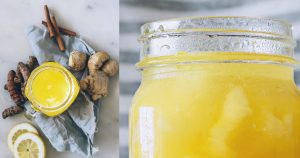 The Best Turmeric Ginger Tea – My Favorite Iced Detox Tea Recipe (YUM!)