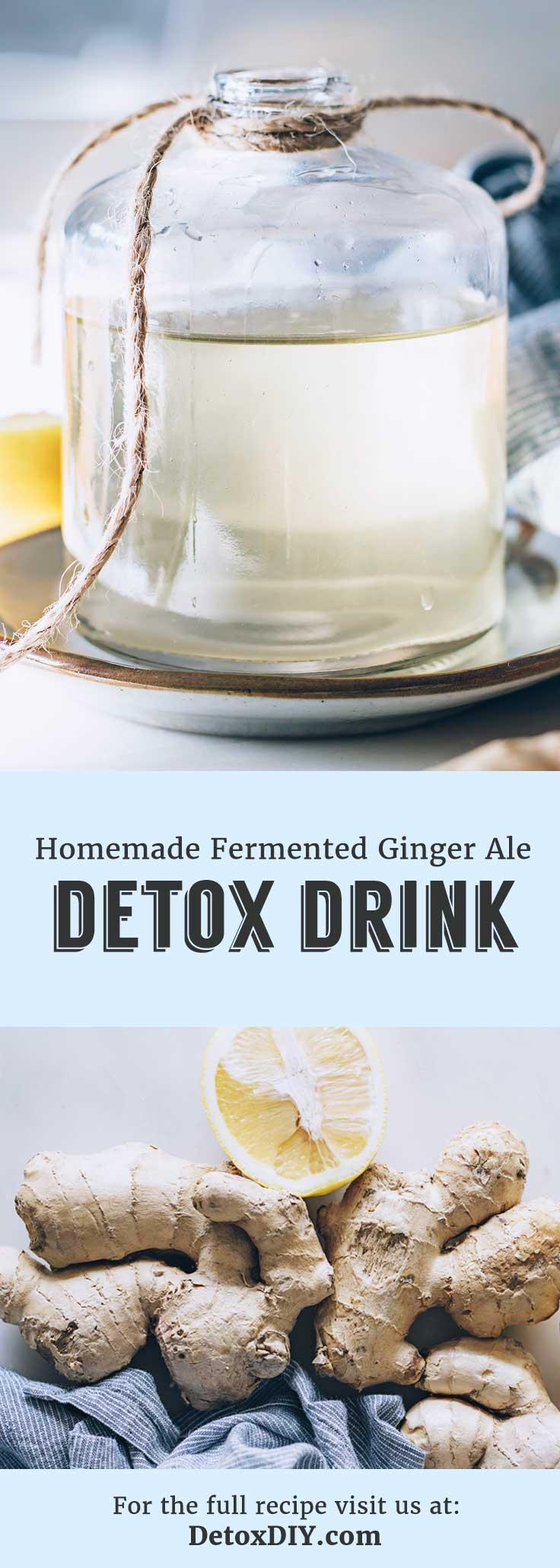 detox ginger ale