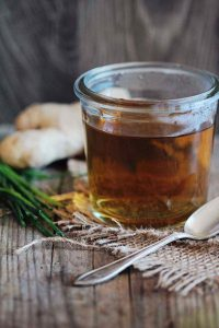 Burdock Root, Ginger and Lemongrass Detox Tea