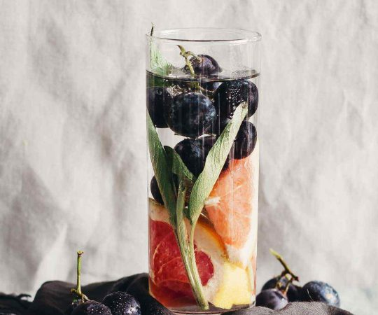 Grapefruit Grape Sage Detox Water