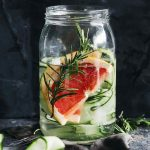 Grapefruit Rosemary Cucumber Detox Water