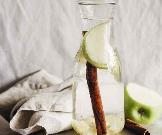 Green Apple Ginger Cinnamon Detox Water