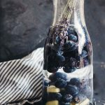 Lavender Blueberry Ginger Detox Water