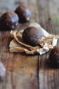 Sweet Potato Cinnamon Energy Balls