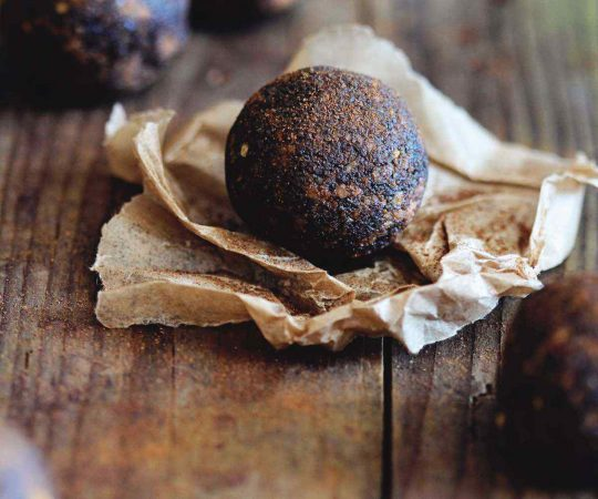 Sweet Potato Cinnamon Truffles