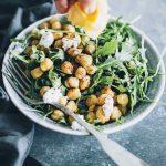 arugula detox salad