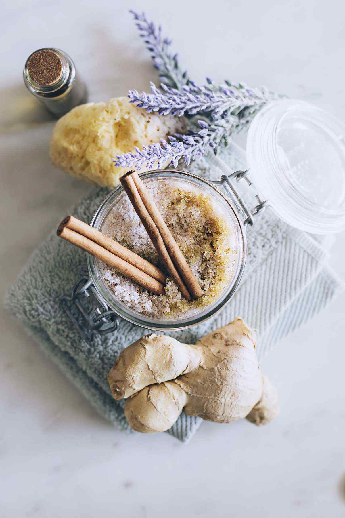 ginger body scrub