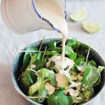 Broccoli Detox Caesar Salad Raw
