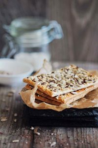 Super Seed Gluten-Free Crackers