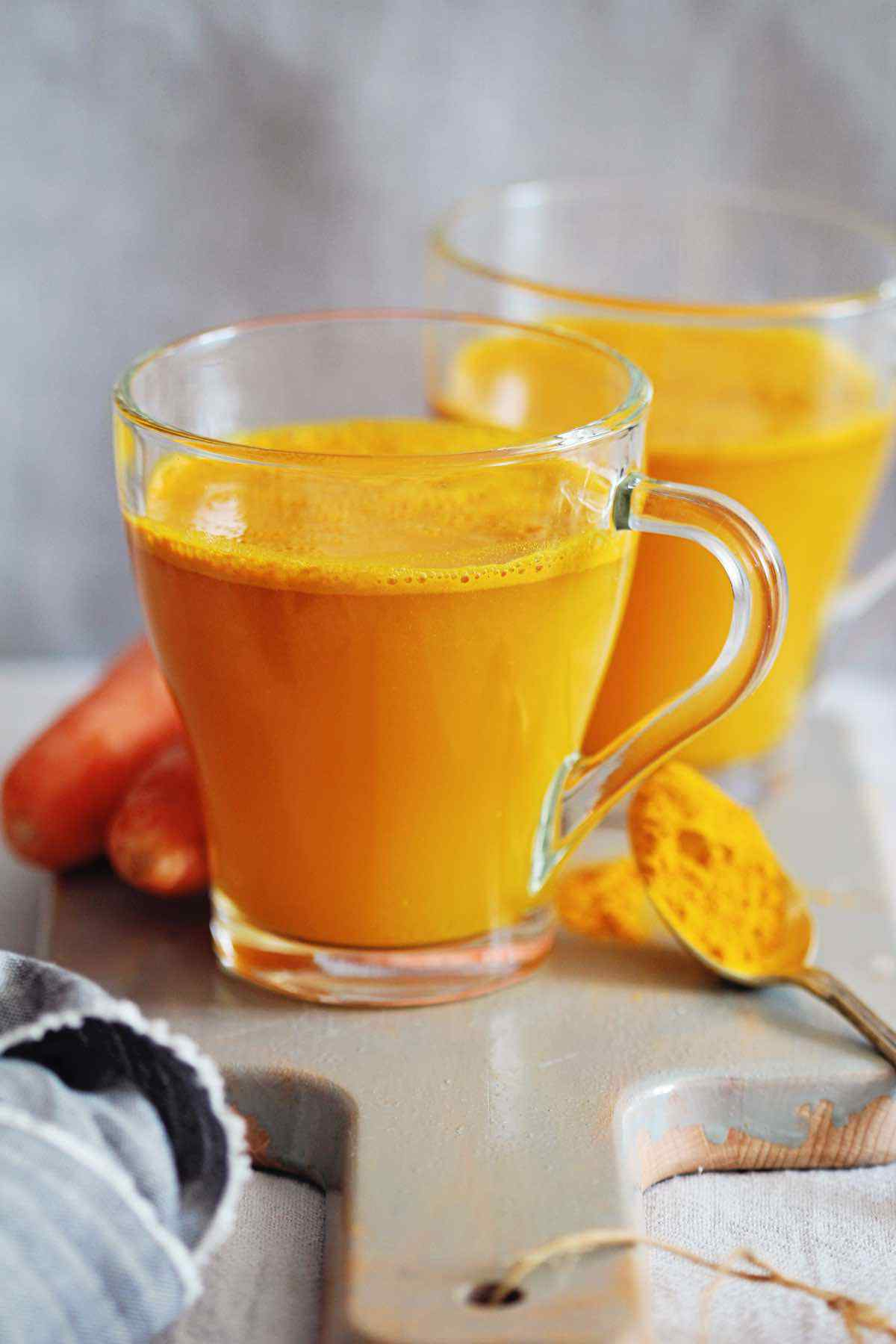 Warm Carrot Turmeric Juice