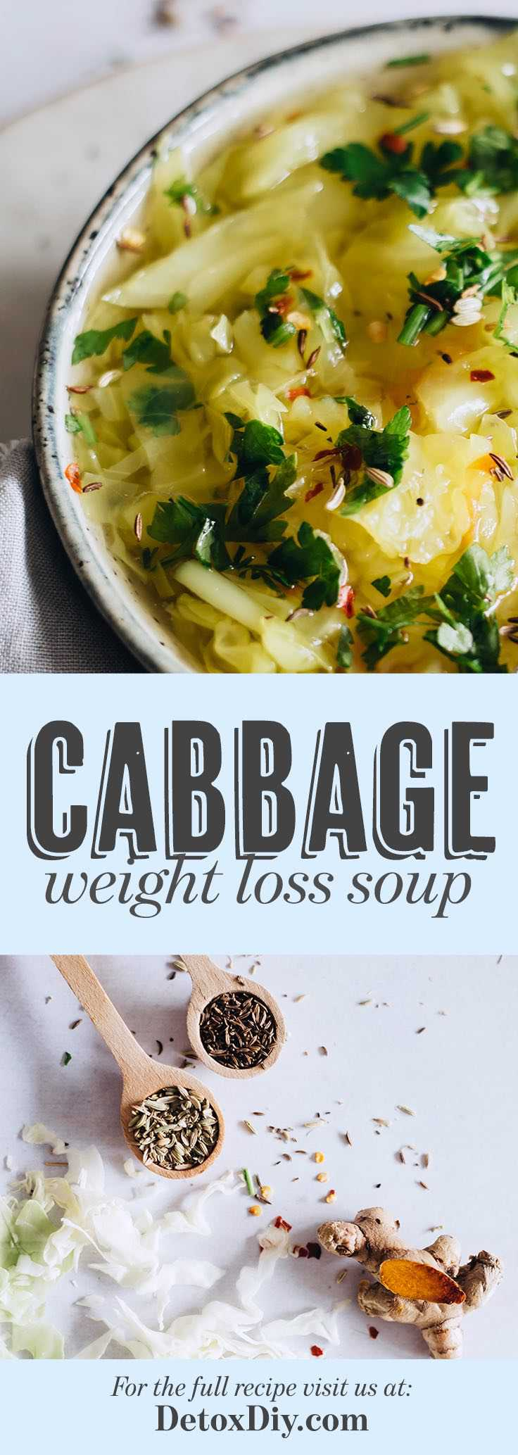 This cabbage weight loss soup really works!