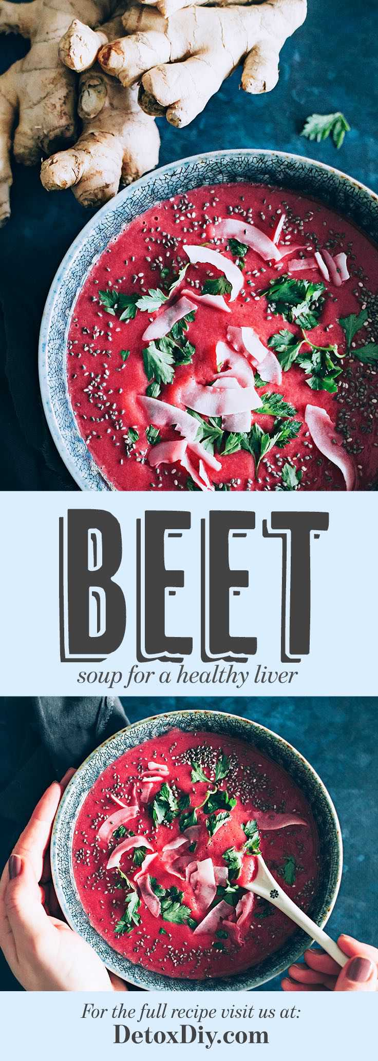 Ginger Beet Soup for Liver Health and Overall Wellness