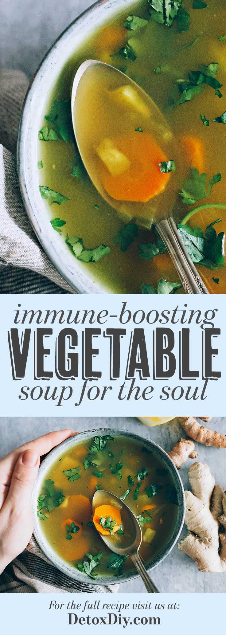 Immune-Boosting Vegetable Soup for the Soul